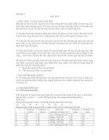 Tài liệu Giáo trình cấu trúc dữ liệu và giải thuật_Chương 7: Sắp xếp docx