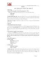 Tài liệu Giáo trình tin học căn bản 2 docx