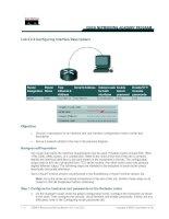 Tài liệu Lab 3.2.3 Configuring Interface Descriptions pptx