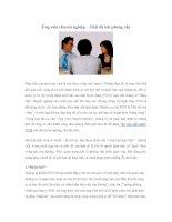 Tài liệu Ứng viên chuyên nghiệp pdf