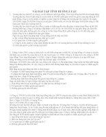 Tài liệu Bài tập tình huống Luật pdf