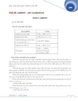 Tài liệu Bài tập Andehit - Axit cacboxylic pptx