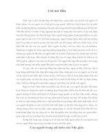 Tài liệu Tiểu luận triết về ảnh hưởng của Nho giáo pdf