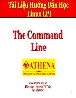 Tài liệu Command line pdf