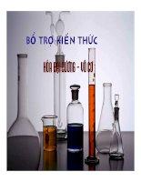 Tài liệu Bổ trợ kiến thức Các định luật trong hoá học doc