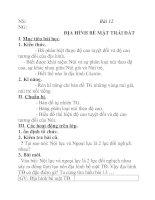 Tài liệu Địa lý lớp 6 bài 12 pptx