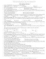 Tài liệu Trắc nghiệm tổng hợp vật lý docx
