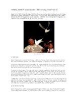 Tài liệu Những bài học lãnh đạo từ Giáo hoàng John Paul II docx