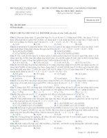 Tài liệu Đề thi cao đẳng, đại học khối A 2007 docx