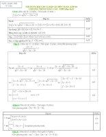 Nội dung bài tập đại số 10 kì 2