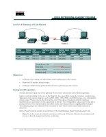 Tài liệu Lab 9.1.2 Gateway of Last Resort ppt