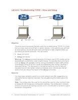 Tài liệu Troubleshooting TCP/IP – Show and Debug pptx