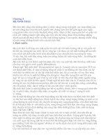 Tài liệu Chương 4 HỆ SINH THÁI pptx