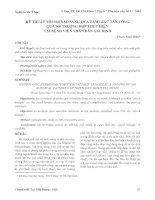 Tài liệu Kỹ thuật nội soi nạo sàng qua tam giác tấn công qua 300 trường hợp thực hiện tại bệnh viện nhân dân Gia Định pdf