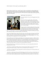 Tài liệu Chiến thuật kéo dài thời gian trong đàm phán (phần 3) ppt