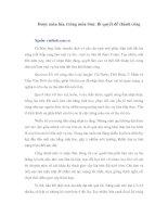 Tài liệu Được mùa lúa, trúng mùa tôm: Bí quyết để thành công pdf