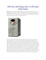 Tài liệu Biến tần, khởi động mềm và tiết kiệm năng lượng pptx