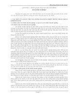 Bài giảng Quản trị tài chính CHƯƠNG 1. TỔNG QUAN VỀ QUẢN TRỊ TÀI CHÍNH DOANH NGHIỆP