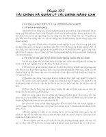 Tài liệu Chương 2: Tài chính doanh nghiệp pdf