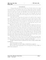BÁO CÁO THỰC TẬP TỐT NGHIỆP: KẾ TOÁN VỐN BẰNG TIỀN TẠI CÔNG TY THỦY BỘ NGHỆ AN