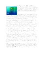 Tài liệu Backup và Restore Windows Vista ppt
