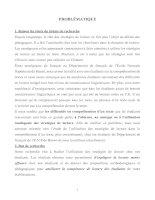 ÉTUDE DE L'UTILISATION DES STRATÉGIES DE LECTURE DES ÉTUDIANTS EN 2è ET EN 3è ANNÉES DU DÉPARTEMENT DE FRANÇAIS ÉCOLE NORMALE SUPÉRIEURE DE HANOI