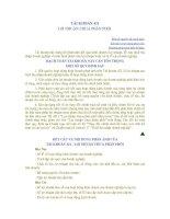 Tài liệu TÀI KHOẢN 421 LỢI NHUẬN CHƯA PHÂN PHỐI pptx