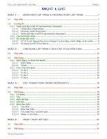 Tài liệu Giáo trình C cơ bản docx