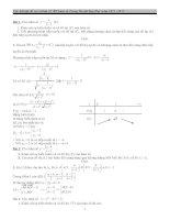 40 bài toán khảo sát hàm số chọn lọc năm 2013