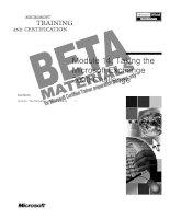 Tài liệu Module 14: Taking the Microsoft Exchange 2000 Challenge doc
