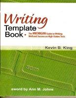 Tài liệu Writing template part 1 pdf