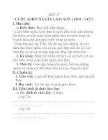 Tài liệu Lịch sử lớp 7 bài 20 doc