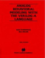 Tài liệu ANALOG BEHAVIORAL MODELING WITH THE VERILOG-A LANGUAGE- P1 pdf