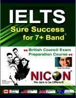 Tài liệu IELTS sure success part 1 doc