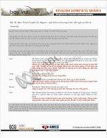 Tài liệu Bài 16: Bàn Thảo Chuyến Du Ngoạn – giải thích chương trình; đề nghị chuẩn pdf