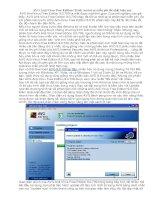 Tài liệu Trình Antivirus miễn phí tốt nhất hiện nay docx