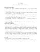 Tài liệu Quy định về việc quản lý và sử dụng điện thoại ppt