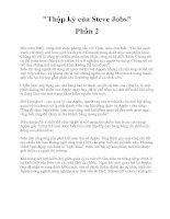 Tài liệu Thập kỷ của Steve Jobs phần 2 pdf