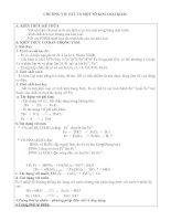 tài liệu ôn thi tốt nghiệp môn Hóa chương 7 CHƯƠNG VII: SẮT VÀ MỘT SỐ KIM LOẠI KHÁC