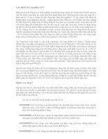 Tài liệu MBA trong tầm tay - Marketing (Phần cuối) pptx