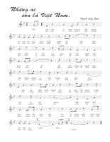 Tài liệu Bài hát những ai còn là Việt Nam - Trịnh Công Sơn (lời bài hát có nốt) ppt