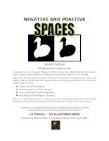 Tài liệu Positive and Negative Spaces doc