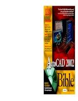 Tài liệu Vẽ kỹ thuật với Autocad 2002 P1 doc