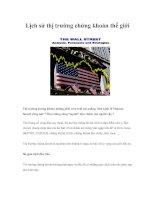 Tài liệu Lịch sử thị trường chứng khoán thế giới ppt