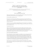 Tài liệu Giáo trình Kinh tế Fulbright: Công lý mới cho thương hiệu_ Chương 1 pdf