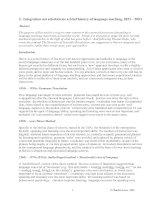 Tài liệu A Brief History of Language Teaching docx