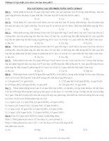 Tài liệu Bài tập nâng cao về nhiệt phân muối nitrat docx