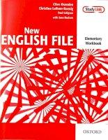 Tài liệu New english file elementary workbook part 1 docx