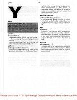Tài liệu CAMBRIGDE INTERNATIONAL DICTIONARY OF IDIOMS_ CHƯƠNG 2.11 pptx
