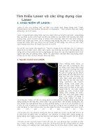 Tài liệu Tìm hiểu Laser và các ứng dụng của Laser pptx